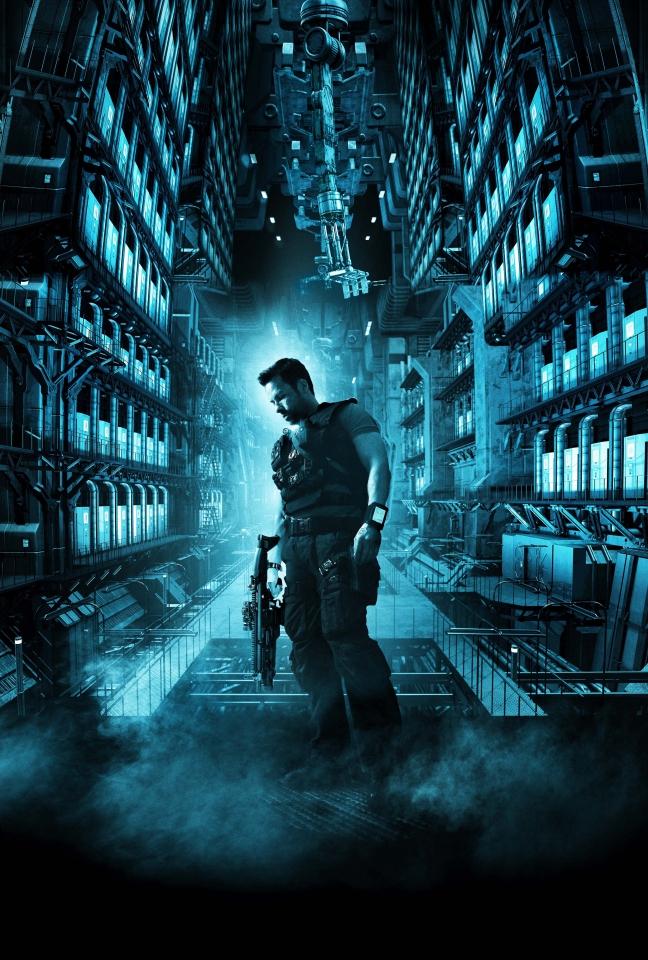 плакат фильма постер textless Напролом