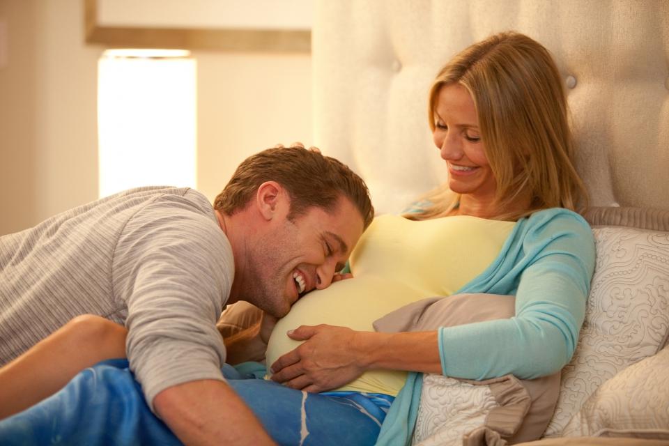кадры из фильма Чего ждать, когда ждешь ребенка Мэттью Моррисон, Кэмерон Диас,