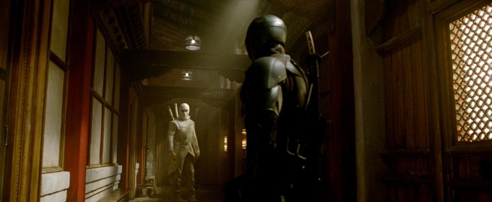 кадры из фильма G.I. Joe: Бросок кобры 2 Бён Хон Ли, Рэй Парк,