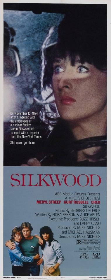 плакат фильма баннер Силквуд