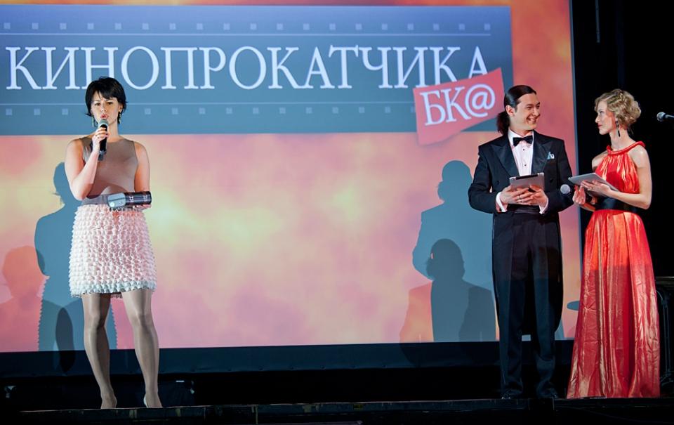 Церемония награждения Российской народной кинопремии «Жорж 2012» Светлана Иванова, Алексей Франдетти,