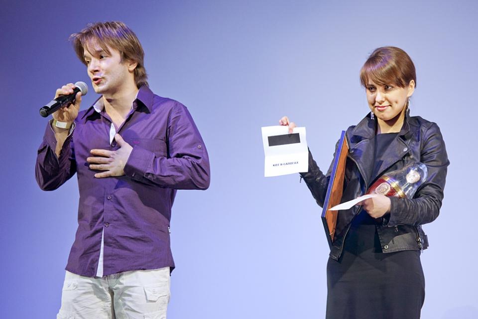 Церемония награждения Российской народной кинопремии «Жорж 2012»