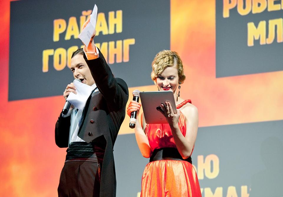 Церемония награждения Российской народной кинопремии «Жорж 2012» Алексей Франдетти, Светлана Иванова,