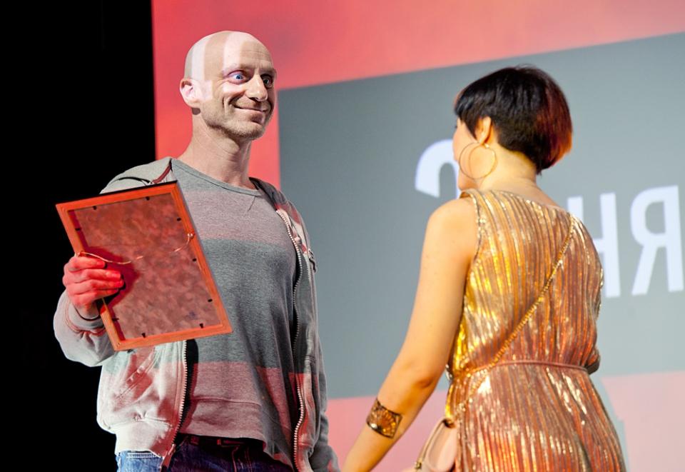 Церемония награждения Российской народной кинопремии «Жорж 2012» Виктор Шамиров,