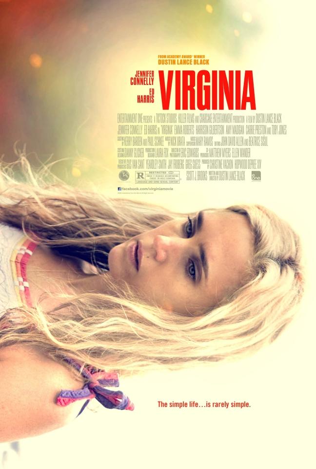 плакат фильма постер Что случилось с Вирджинией*