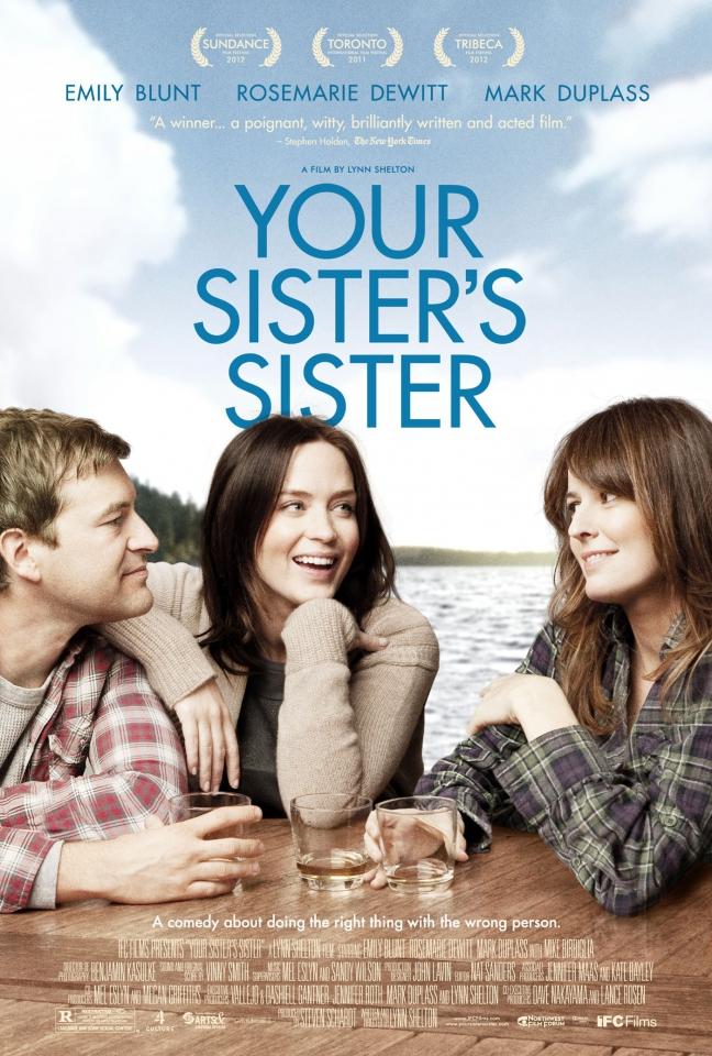 плакат фильма постер Сестра твоей сестры*