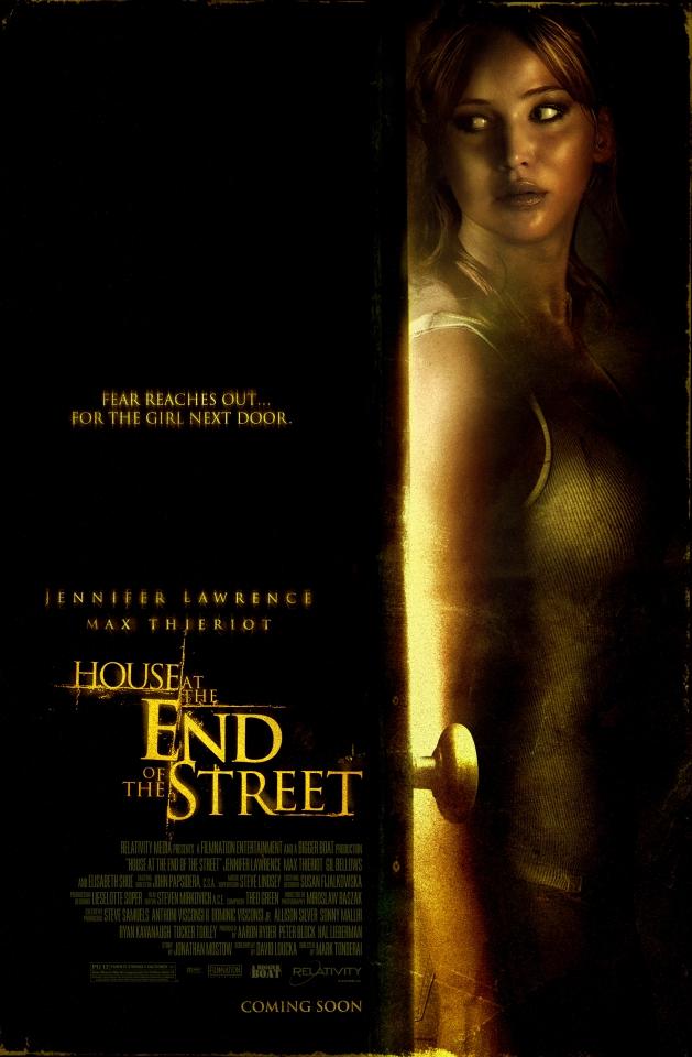 плакат фильма постер Дом в конце улицы
