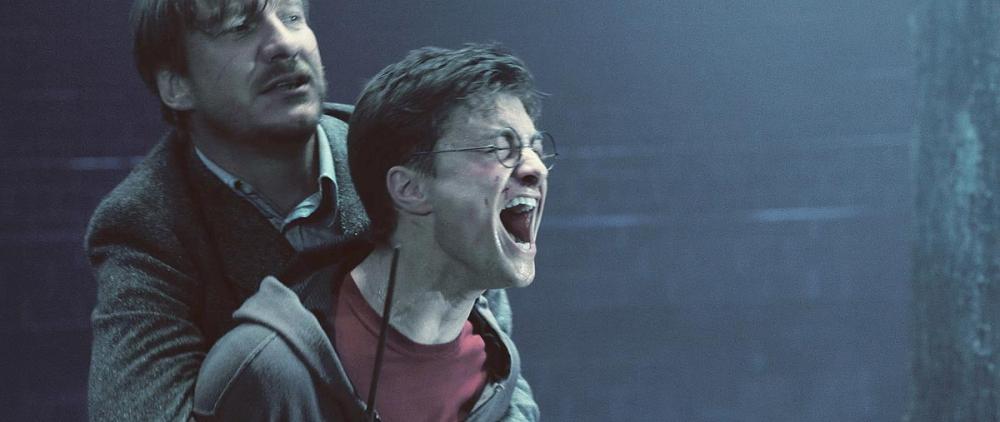 кадры из фильма Гарри Поттер и Орден Феникса Дэниэл Рэдклифф, Дэвид Тьюлис,
