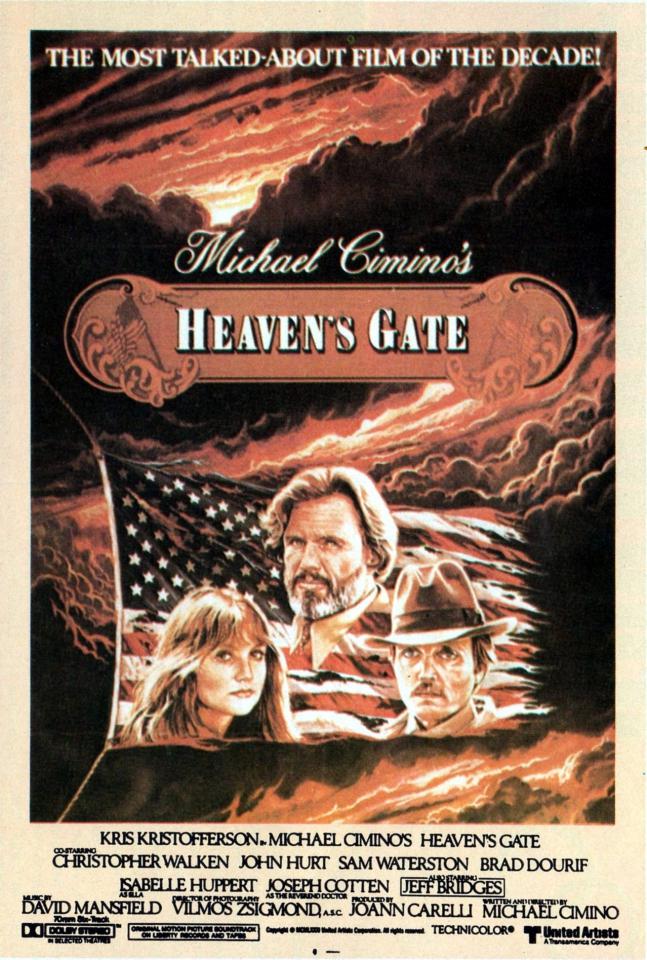 плакат фильма Врата рая
