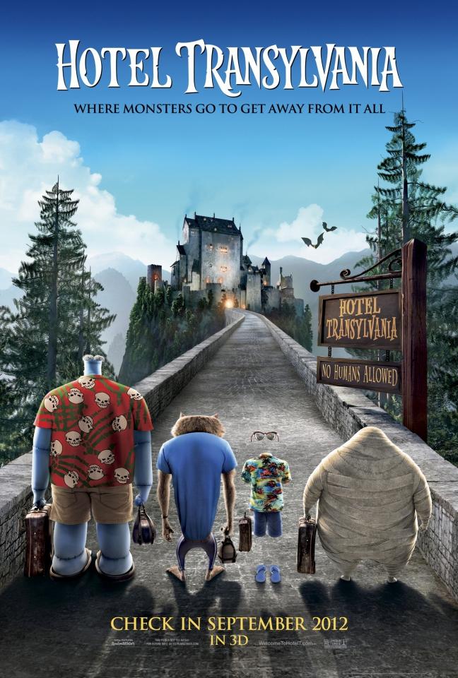 плакат фильма постер Монстры на каникулах