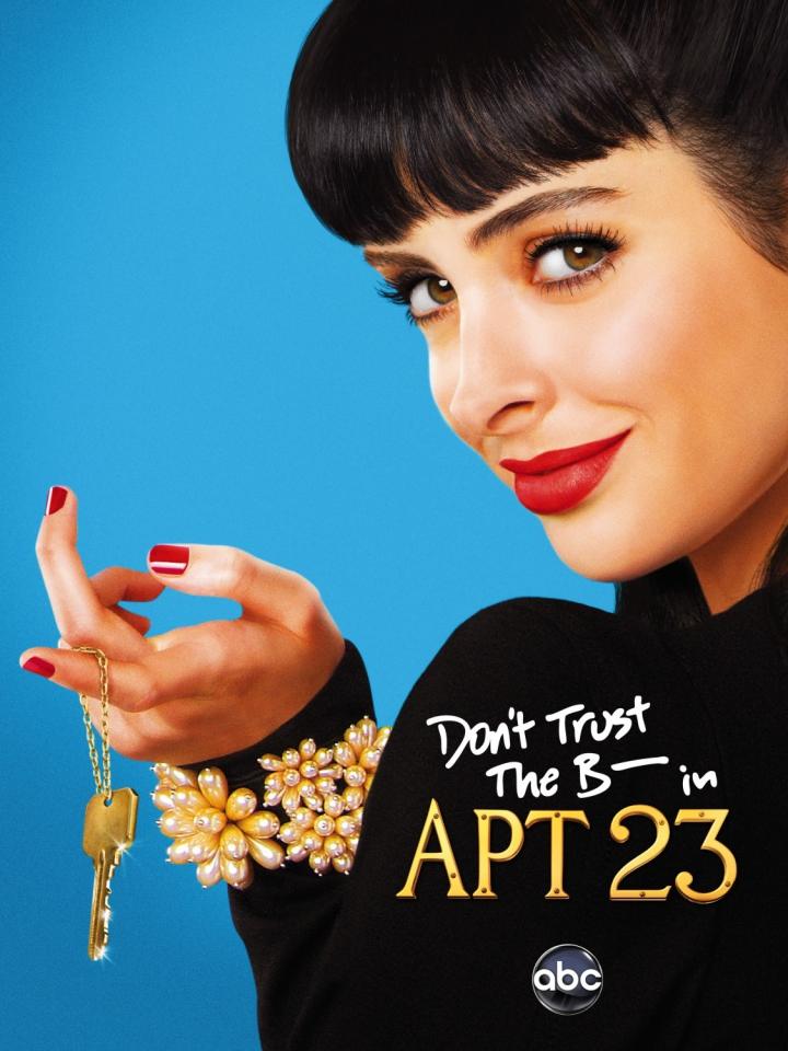 плакат фильма Не доверяйте су*** из 23-й квартиры*