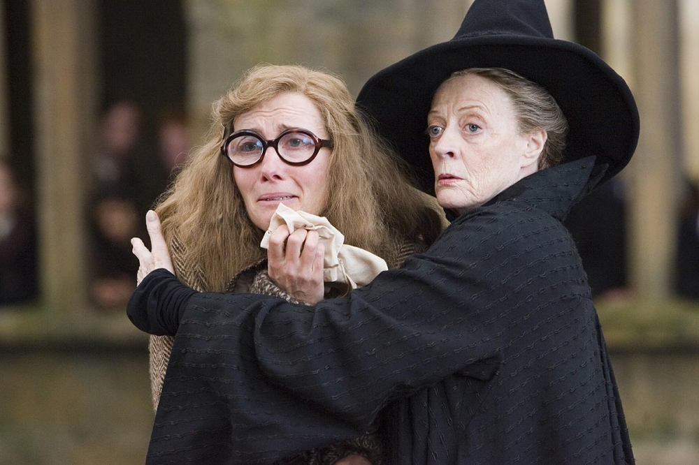 кадры из фильма Гарри Поттер и Орден Феникса Мэгги Смит, Эмма Томпсон,