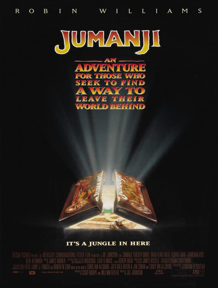 плакат фильма постер Джуманджи