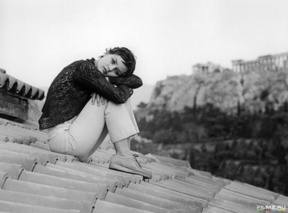 кадры из фильма Девушка на мосту Ванесса Паради,