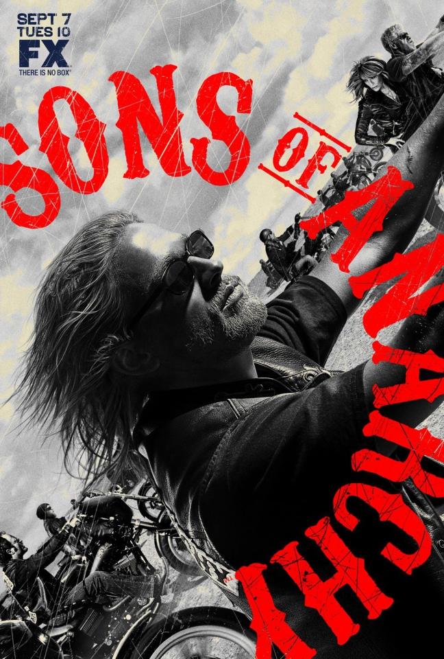 плакат фильма Сыны Анархии