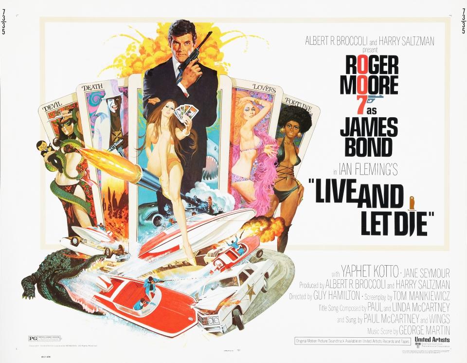 плакат фильма постер Живи и дай умереть