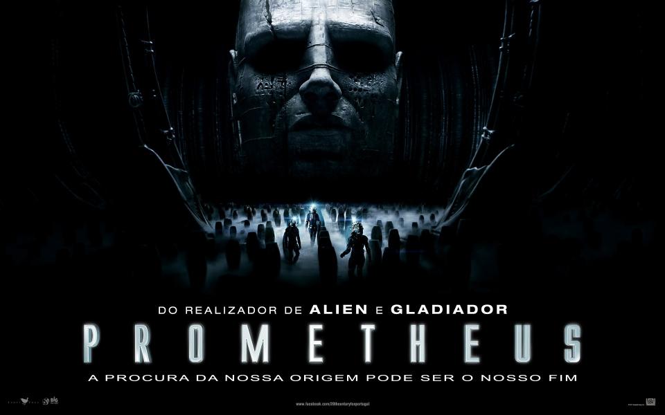 плакат фильма баннер Прометей