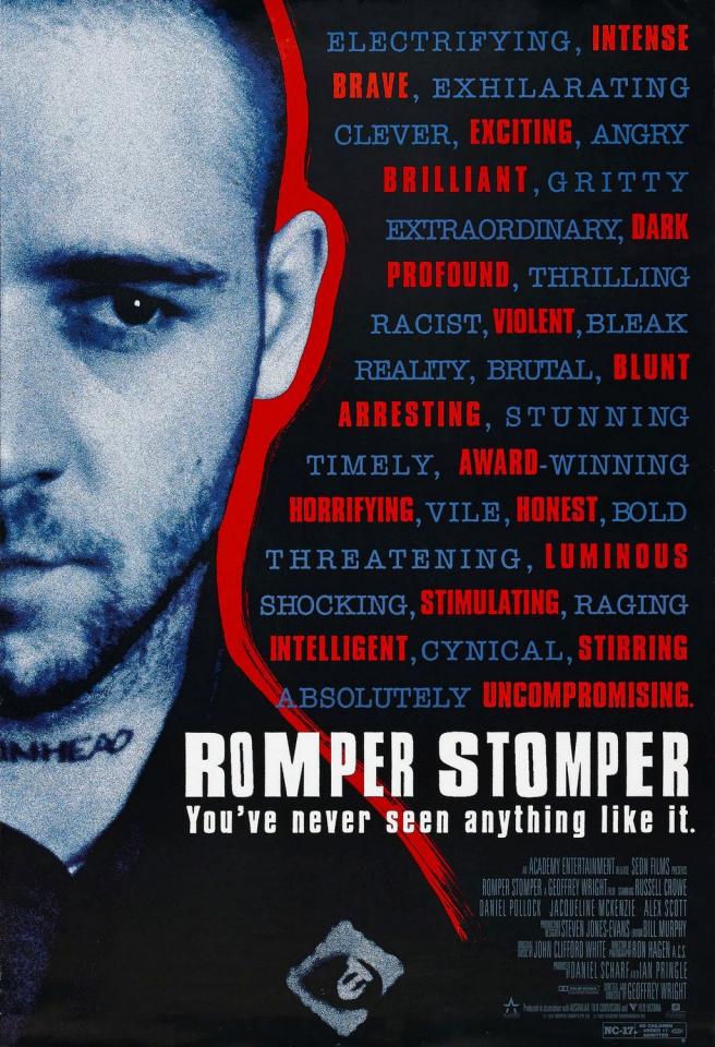 плакат фильма Скины