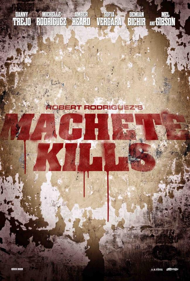 плакат фильма тизер Мачете убивает