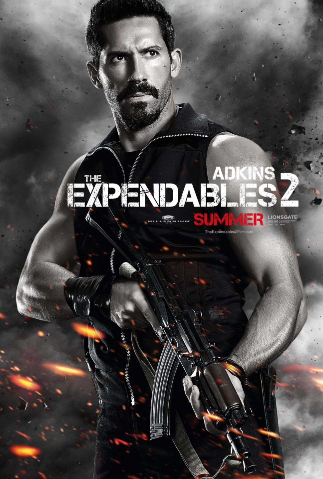 плакат фильма характер-постер Неудержимые 2