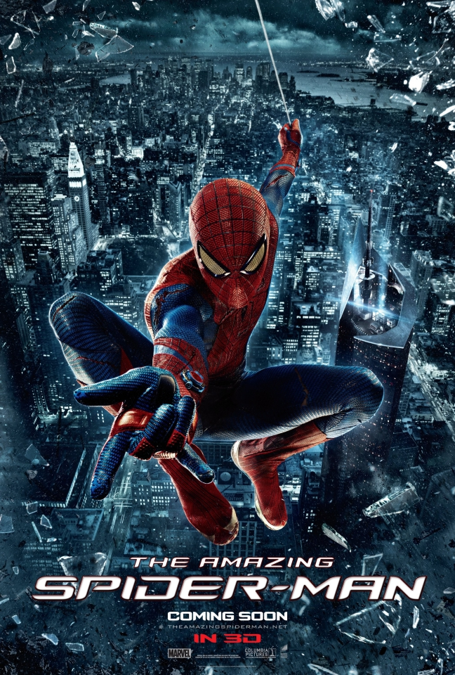 плакат фильма постер Новый Человек-паук