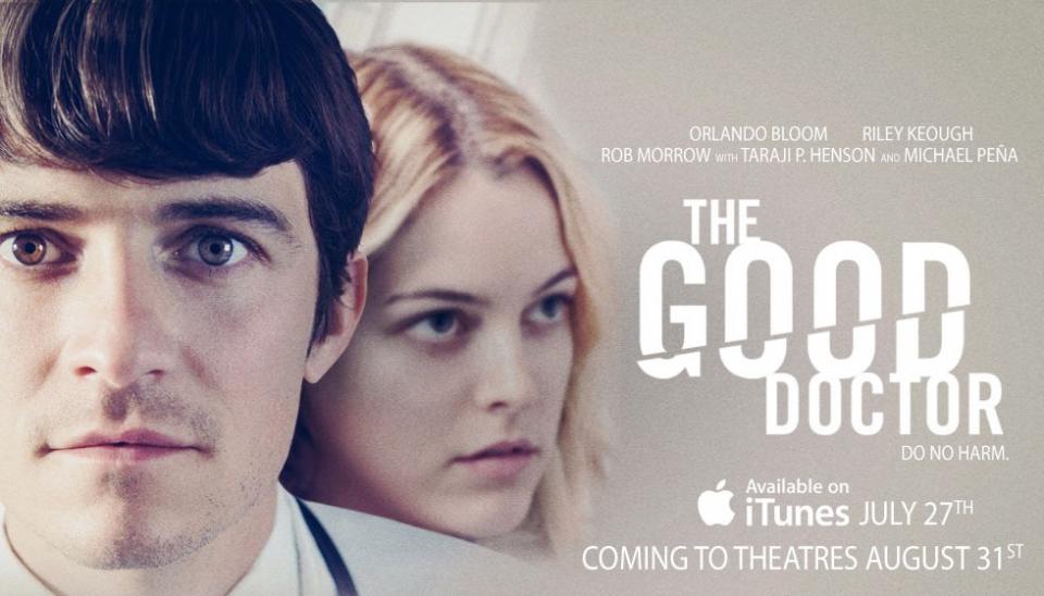 плакат фильма баннер Хороший доктор