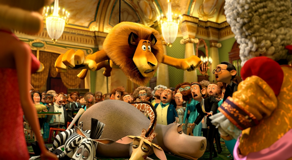 кадры из фильма Мадагаскар 3 в 3D Крис Рок, Дэвид Швиммер, Бен Стиллер, Джада Пинкетт Смит,