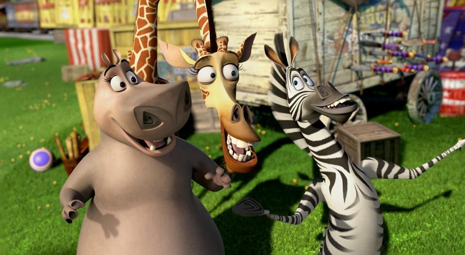 кадры из фильма Мадагаскар 3 в 3D Джада Пинкетт Смит, Дэвид Швиммер, Крис Рок,