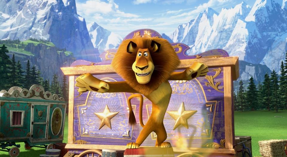 кадры из фильма Мадагаскар 3 в 3D Бен Стиллер,