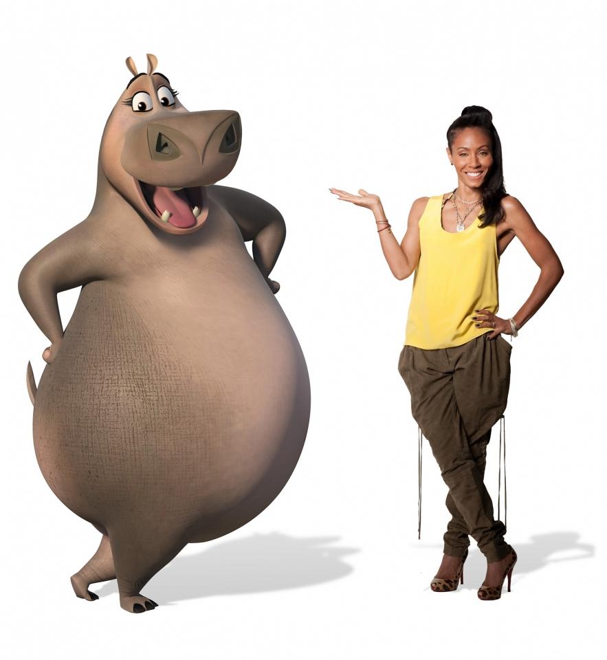 промо-слайды Мадагаскар 3 в 3D Джада Пинкетт Смит,