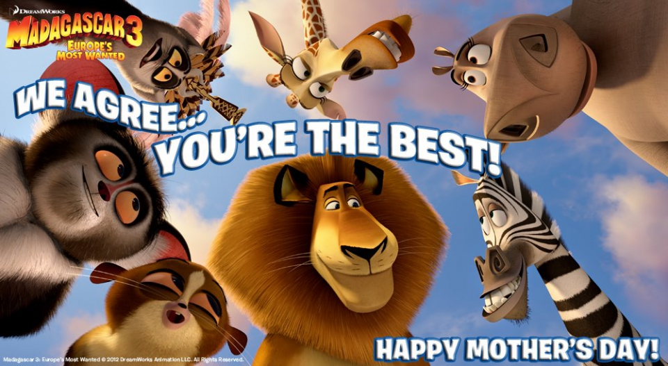 промо-слайды Мадагаскар 3 в 3D Седрик Энтертейнер, Саша Бэрон Коэн, Дэвид Швиммер, Бен Стиллер, Крис Рок, Джада Пинкетт Смит,