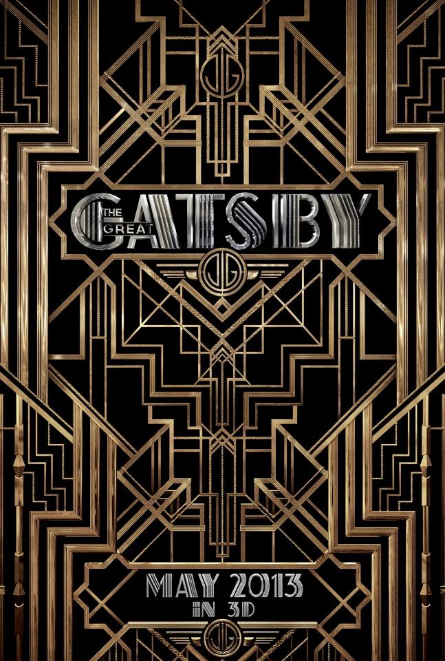 плакат фильма тизер Великий Гэтсби