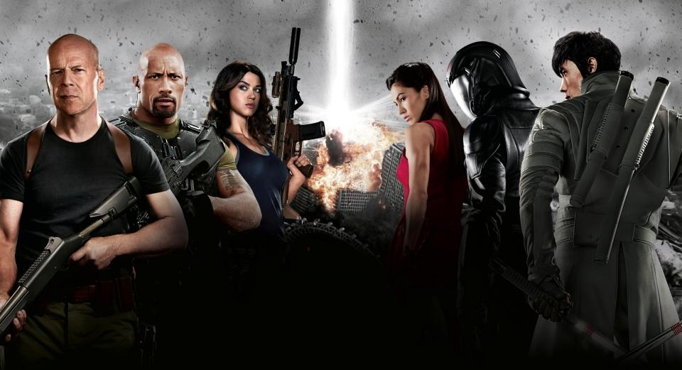 плакат фильма баннер textless G.I. Joe: Бросок кобры 2