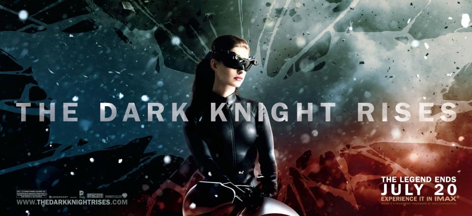плакат фильма характер-постер баннер Темный рыцарь: Возрождение легенды