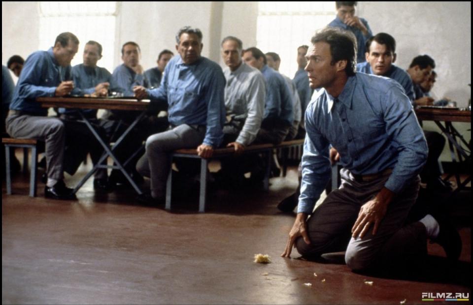 кадры из фильма Побег из Алькатраса Клинт Иствуд,