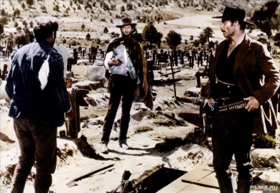 кадры из фильма Хороший, плохой, злой Илай Уоллик, Клинт Иствуд,