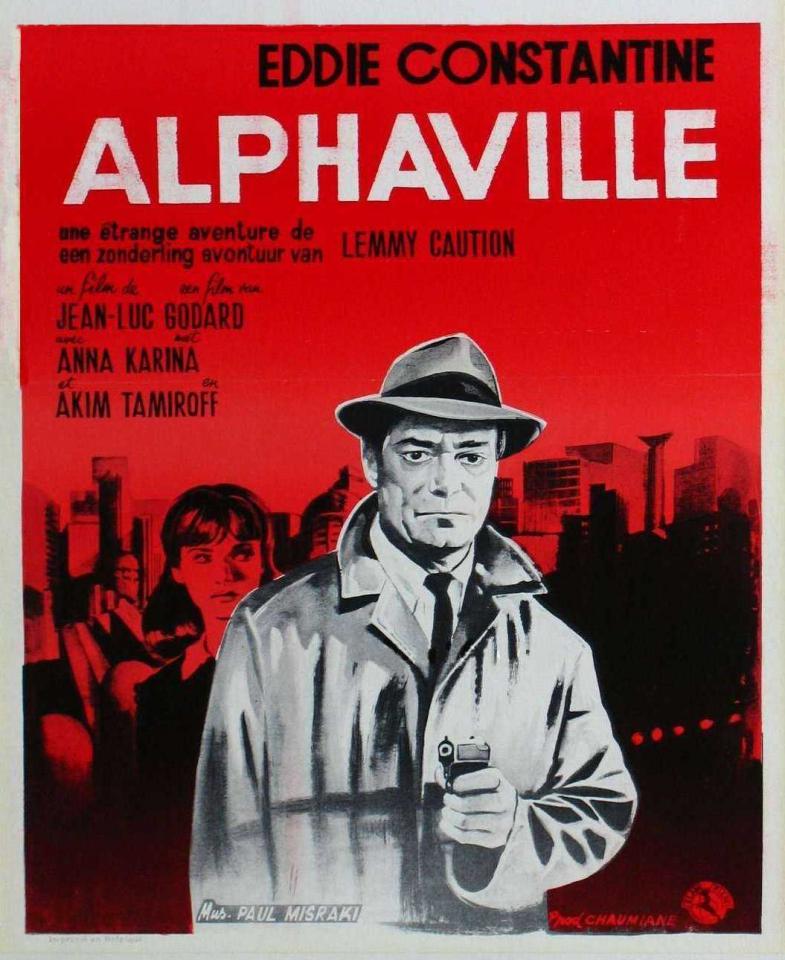 плакат фильма Альфавиль