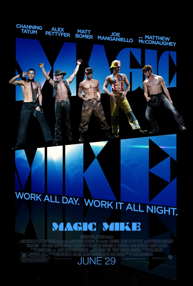 плакат фильма постер Супер Майк!