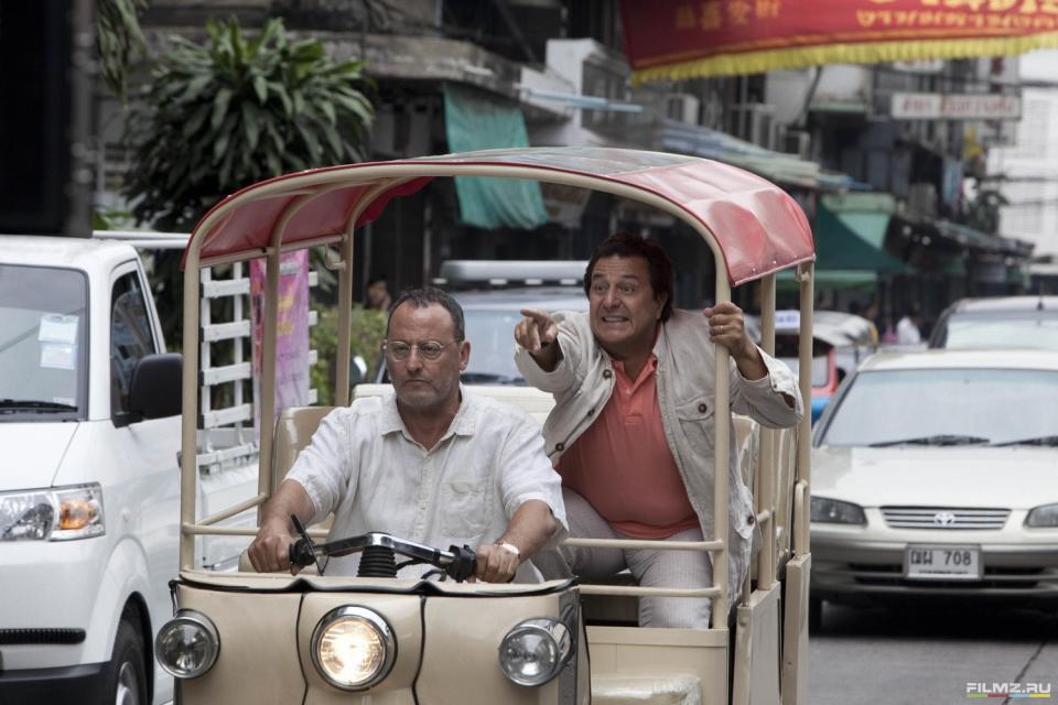 кадры из фильма Папаши без вредных привычек Жан Рено, Кристиан Клавье,