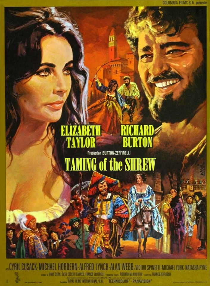 плакат фильма постер Укрощение строптивой