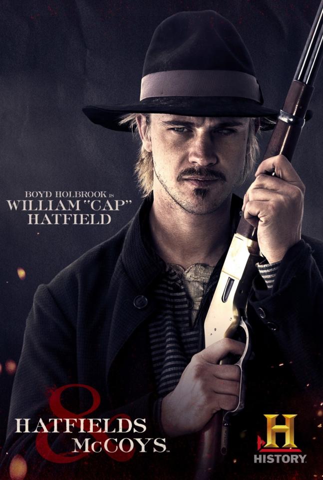 плакат фильма характер-постер Хэтфилды и МакКои*