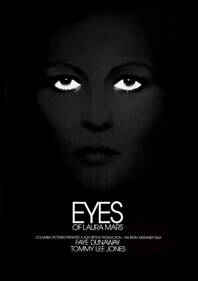 плакат фильма постер Глаза Лоры Марс