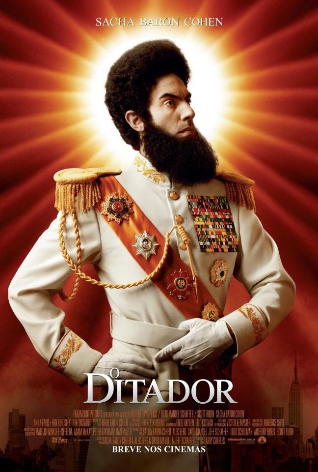 плакат фильма постер Диктатор