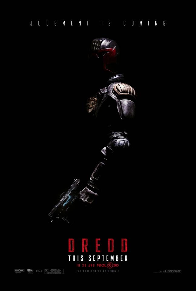 плакат фильма тизер Судья Дредд 3D
