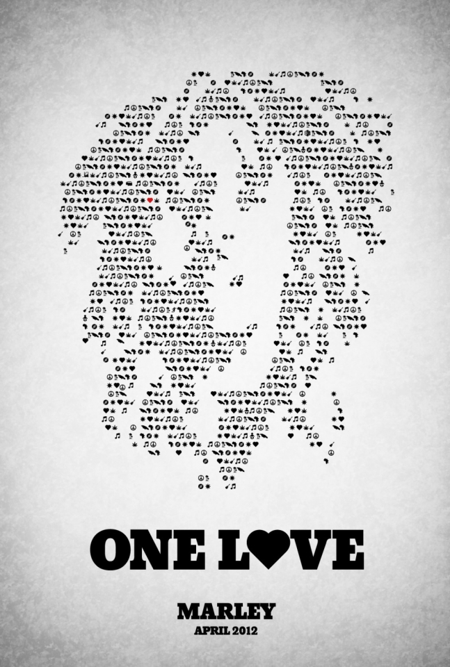 плакат фильма тизер Боб Марли