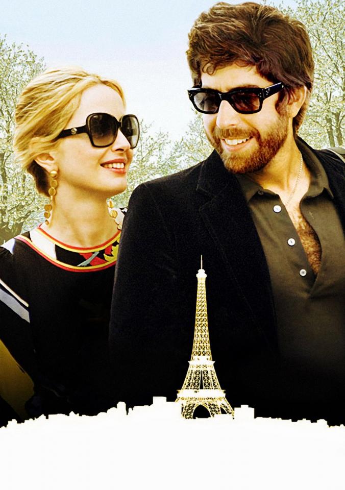 плакат фильма постер textless Два дня в Париже