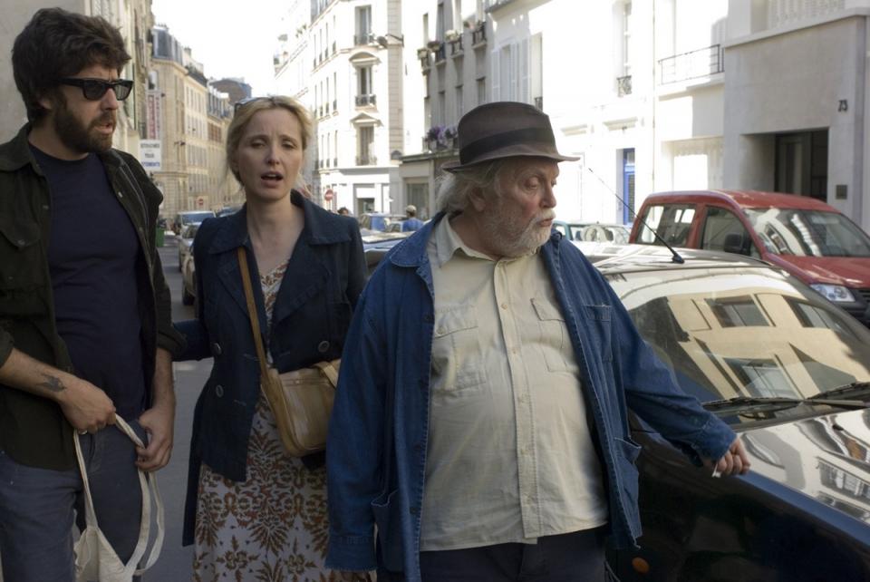 кадры из фильма Два дня в Париже Адам Голдберг, Жюли Дельпи, Альбер Дельпи,