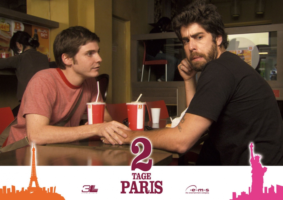 промо-слайды Два дня в Париже Даниэль Брюль, Адам Голдберг,