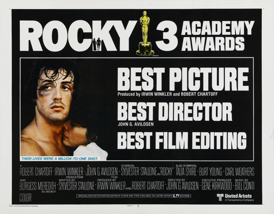 плакат фильма биллборды Рокки