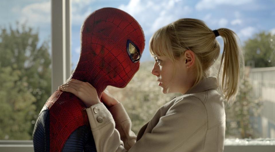 кадры из фильма Новый Человек-паук Эндрю Гарфилд, Эмма Стоун,